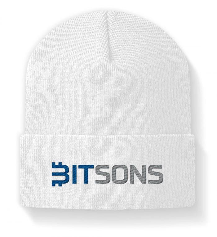 Bitsons Mütze weiß - Beanie-3