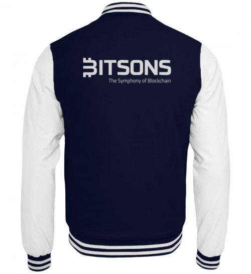 Bitsons Collegejacke dunkelblau - College Sweatjacke-6753