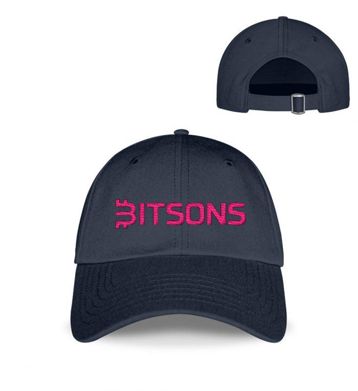 Bitsons Base Cap Magenta - Kappe-774