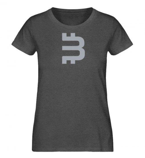 Bitsons B Damenshirt - Damen Organic Melange Shirt-6898