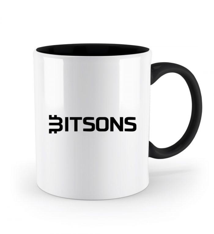 Bitsons Tasse zweifarbig - Zweifarbige Tasse-16