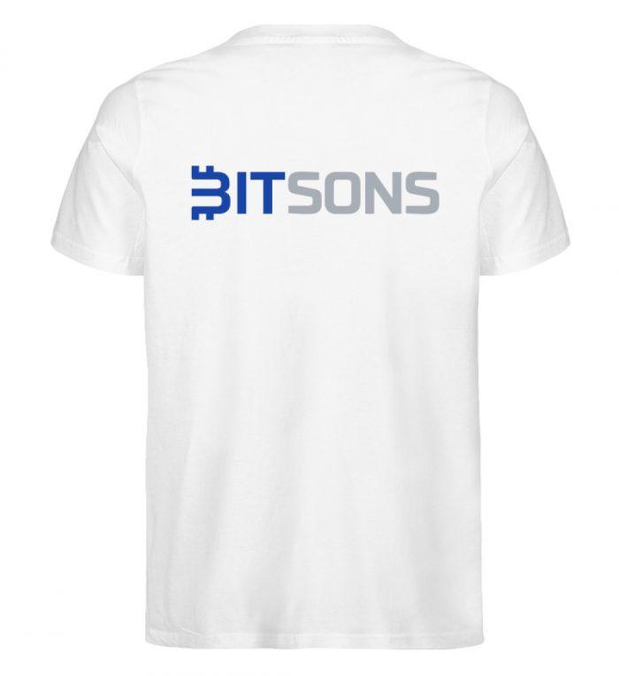 Bitsons - LITTLE BIT LOVE Shirt - Herren Premium Organic Shirt-3